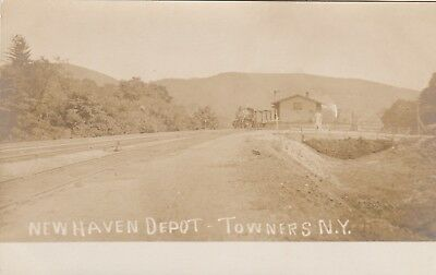 RPPC NEW HAVEN RAILROAD DEPOT in TOWNERS  NY  PUTHAM COUNTY