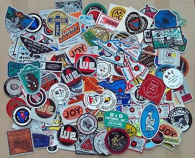 Huge Lot Of 200+ Coal Mining Stickers Decals Westmoreland Joy Clinchfield Umwa