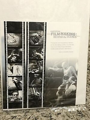 American Film Making Behind the Scenes 37 Cent Stamps Sheet In Sealed Package