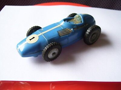 Vintage Marx blue Indy type slot car-4 in.long-1/43 scale ???