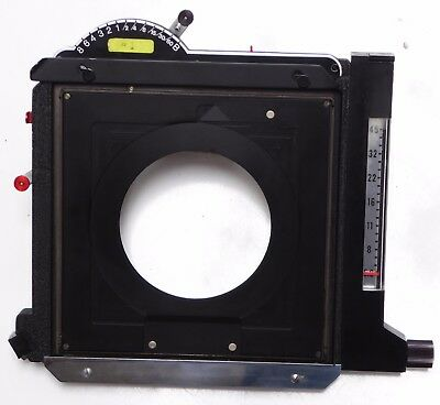 Sinar Auto Aperture Shutter w/ Cable-Excellent Condition-Operates Beautifully