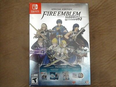 BRAND NEW Fire Emblem Warriors Special Edition - Nintendo Switch