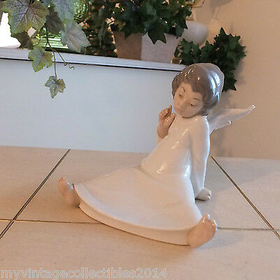 Lladro Cherub Angel Wondering # 4962 L@@k!!! Mint Condition Fast Shipping!!!