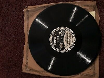 Edison Diamond Disc 52169 PICCADILLY PLAYERS AND SINGERS/OREST AND HIS QUEENSLAN