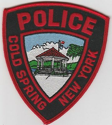 vintage run Cold Spring, New York Police Dept patch  NY
