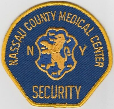 vintage Nassau County, New York Medical Center Security Dept patch  NY