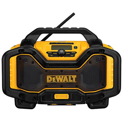 DeWalt DCR025 Cordless Lithium-Ion Single-Port Bluetooth Radio Charger New