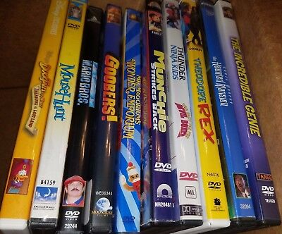 Selling HUGE movie collection - LOT 10 - Family - Disney - Dreamworks - Munchie!