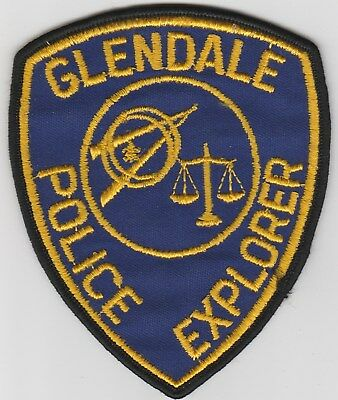 vintage Glendale, California Police Dept ~ Explorer patch  CA