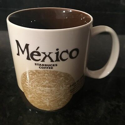 STARBUCKS GLOBAL ICON COLLECTOR CITY SERIES MEXICO COFFEE TEA MUG CUP New