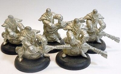 Warmachine Protectorate Menoth Flameguard Cleansers PIP32097 New metal Lot of 5