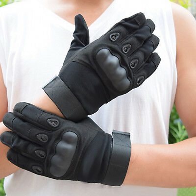 Airsoft Military Tactical Sport Cycling Outdoor Hard Knuckle Full Finger Gloves