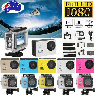 Full HD 1080P Waterproof Sports Camera DV Bike Action Video Record Camcorder