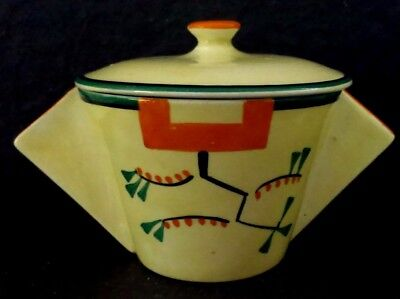 """Clarice Cliff """"Ravel"""" Lidded  Conical Soup bowl"""