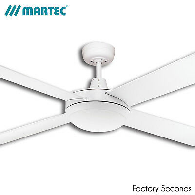 """Martec Lifestyle 52"""" 1300mm Ceiling Fan with 24W LED Light"""