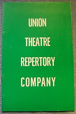 Union Theatre Repertory Company - Program - Melbourne-1963 - and the Big men fly