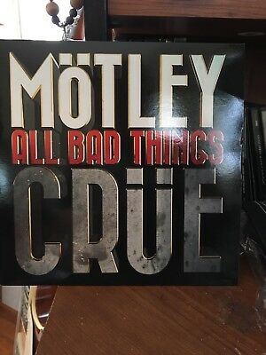 motley crue all bad things rate 7 inch EP