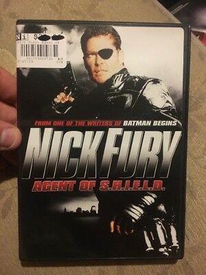 Nick Fury Agent Of SHIELD Dvd