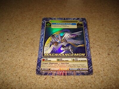 Bandai Digimon holo card BO-142 Magnaangemon