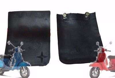 Vespa Px Lml Mudguard Flap Set Of 2 Star Stella Scooters @aud