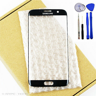 US New Front Glass Lens Touch Screen Replacement For Samsung GALAXY S7 Edge G935