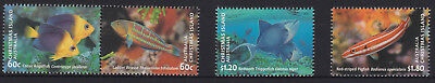 2013 Australia Christmas Island, Fish Set of Four SG 748/51 MNH