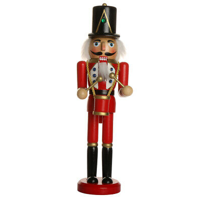 24 Patterns Wooden Handpainted Nutcracker Soldier Statue Xmas Party Ornament Toy