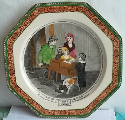 Adams Cries of London Octagonal Plate with Vendramini Engraving