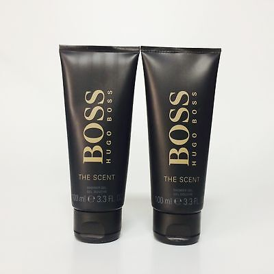 2x Hugo Boss The Scent Duschgel Shower Gel 100ml (200ml)