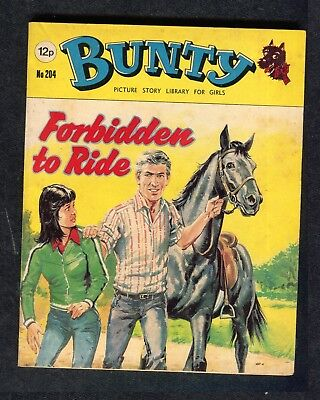 1980: Bunty Picture Story No 204: Forbidden to Ride: Shirley Bassey