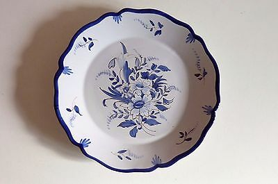Faience De Nevers Decor Floral  E-Georges  Ref 106