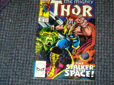 The MIGHTY THOR # 417 Marvel Comic  May 1992  VFN