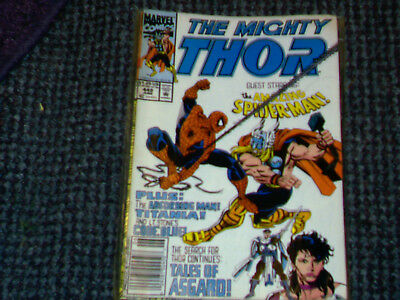 Marvel comic 448 The Mighty Thor june 1992 Tales of Asgard.