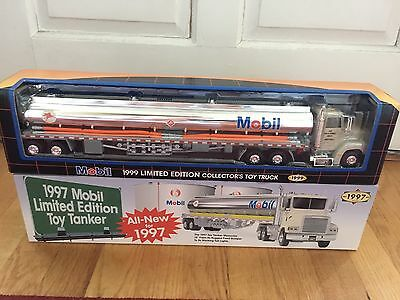2 NEW 1997 & 1999 Mobil Limited Edition Truck & Tanker.