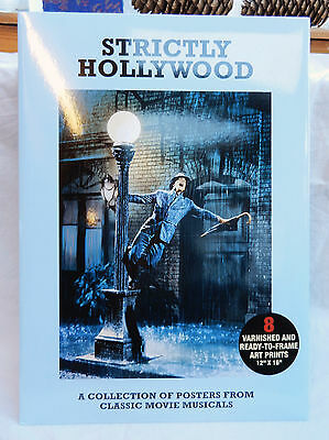 Strictly Hollywood - - Pack 8 Varnished Hollywood Musicals Art Prints / Posters