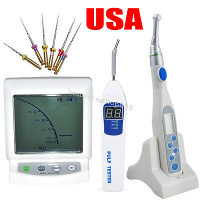 Dental Apex Locator +Root Canal Endo Motor Treatment 16:1 +Pulp Tester Nti Files