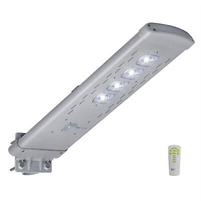 3,000LM Commercial Solar Street Light Outdoor IP65 Area Lighting Dusk to Dawn