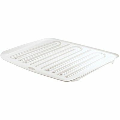 Rubbermaid Dish Racks Antimicrobial Drain Board Large, White