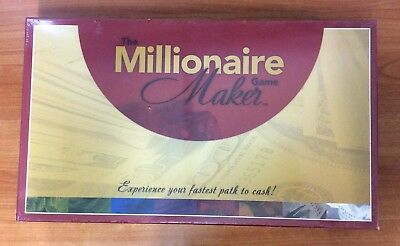 The Millionaire Maker Board Game - Brand New & Sealed