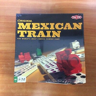 2011 Tactic Board Game - Original Mexican Train - New & Sealed