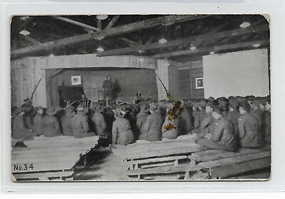 VINTAGE WW1 Official AUSTRALIA Photo POSTCARD No 34 OUR BOYS AT THE FRONT A.C.F.