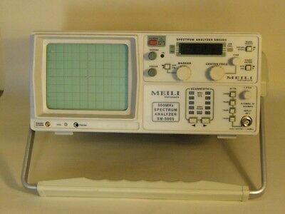0.15 MHz to 500 MHz Spectrum Analyser. Ideal for accurately setting up radios.