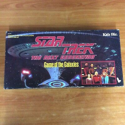 1993 Board Game - Star Trek The Next Generation - 100% Complete