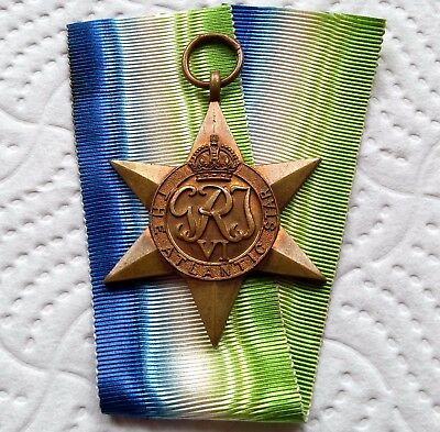 THE ATLANTIC STAR - Genuine British WW2 War Medal