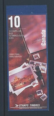 Canada Booklet 1993 Historic CPR Hotels #BK160b MNH