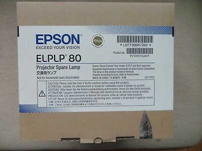 Epson ELPLP80 (245W) Replacement Projector Lamp for EB-58x/EB-59x Projectors NEW