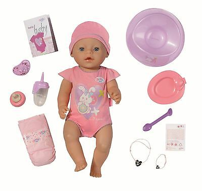 DAMAGED BOX - Zapf Baby Born Deluxe Interactive Doll Playset & Accessories Potty