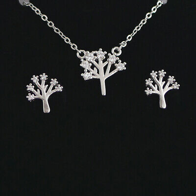 Sterling Silver Tiny Cross King Crown Queen Crown Necklace Earring Charm Pendant