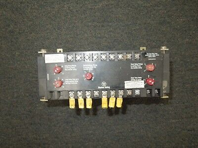Westinghouse #2607D84G11 600A LSI Trip Unit fo SPCB 600-3000 Breakers Used