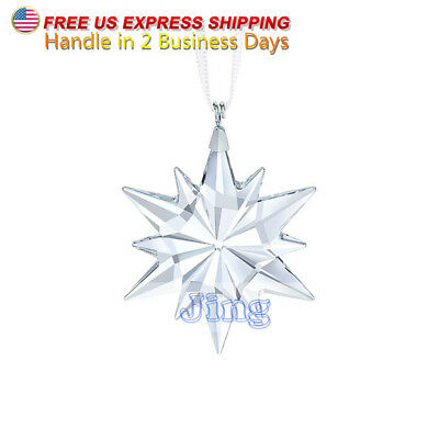 New 2017 Crystal Star Ornament Large Christmas Swarovski Annual Edition #5257589